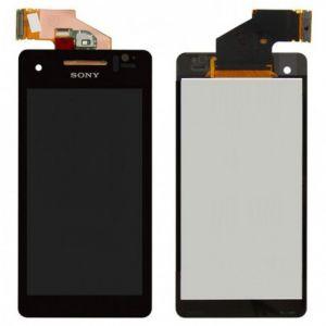 LCD (Дисплей) Sony LT25i Xperia V (в сборе с тачскрином) (black) Оригинал