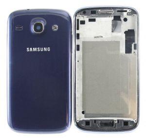 Корпус Samsung i8262 Galaxy Core (blue) Оригинал