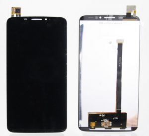 LCD (Дисплей) Alcatel 8020D OneTouch Hero (в сборе с тачскрином) (black) Оригинал