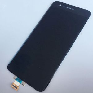 LCD (Дисплей) LG M250 K10 (2017) (в сборе с тачскрином) (black) Оригинал