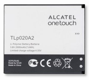 Аккумулятор Alcatel 5050X Pop S3/5050Y Pop S3/5065D OneTouch POP 3 (TLp020A1/TLp020A2) Оригинал