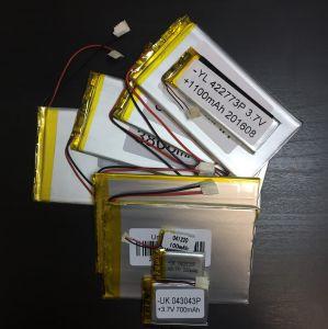Аккумулятор технический универсальный (3.7 V/150 mAh) (15 мм х 12 мм)