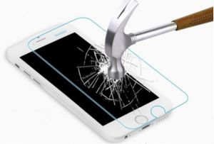 Защитное стекло Samsung A710F Galaxy A7 (2016) (бронестекло, 3D white)